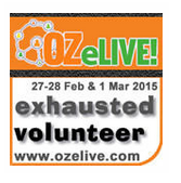OZeLIVE! volunteer